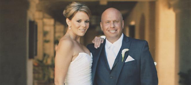 Congratulations, Mr. & Mrs. Tolson!
