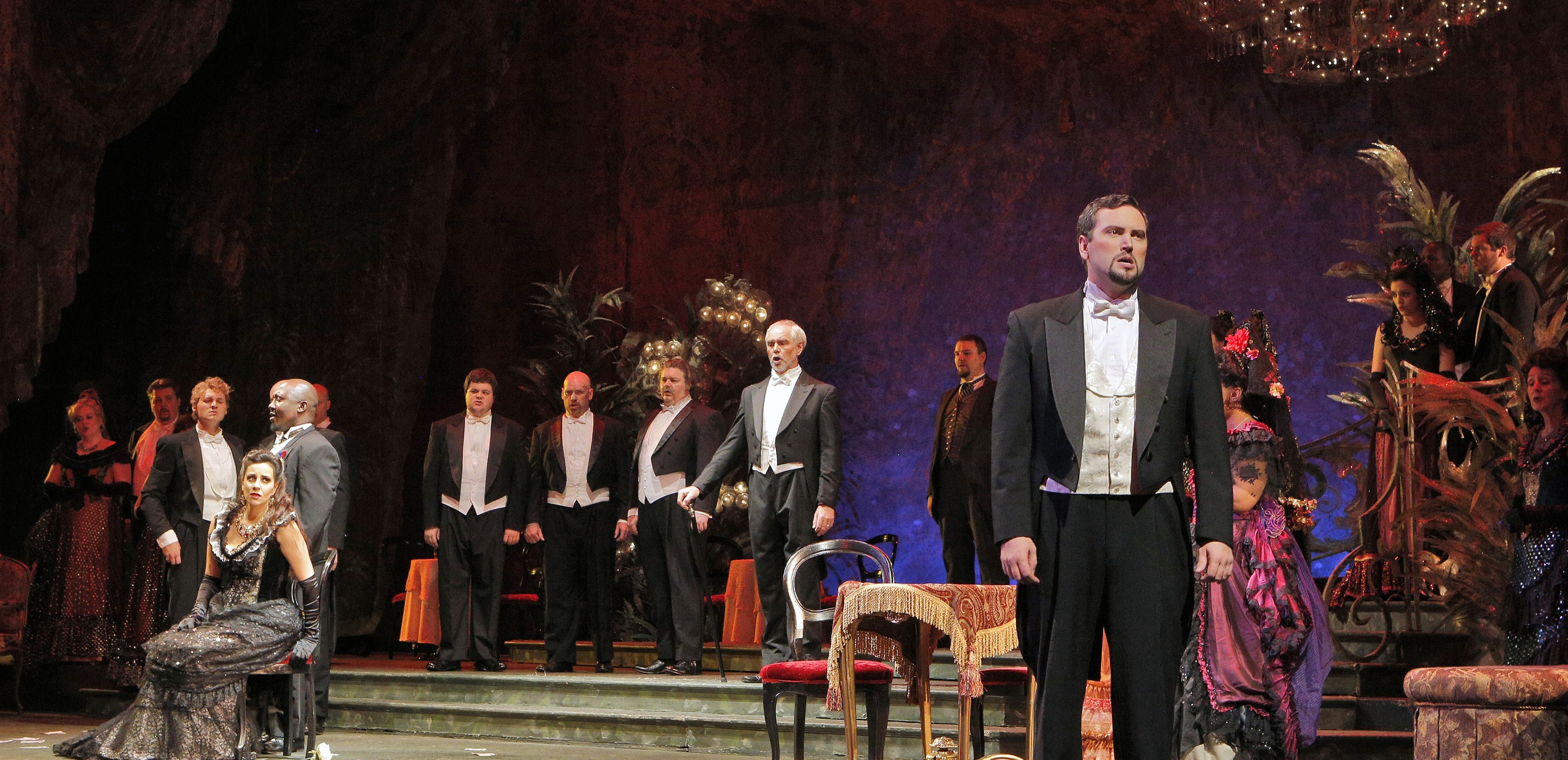 PASSION WITH A FLICKER OF FIRE: Lyric brings attractive production, fresh voices, to Verdi classic
