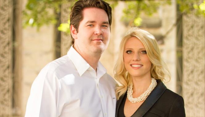 Congratulations, Caroline & Fred!