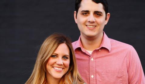 Congratulations, Rebecca & Scott!