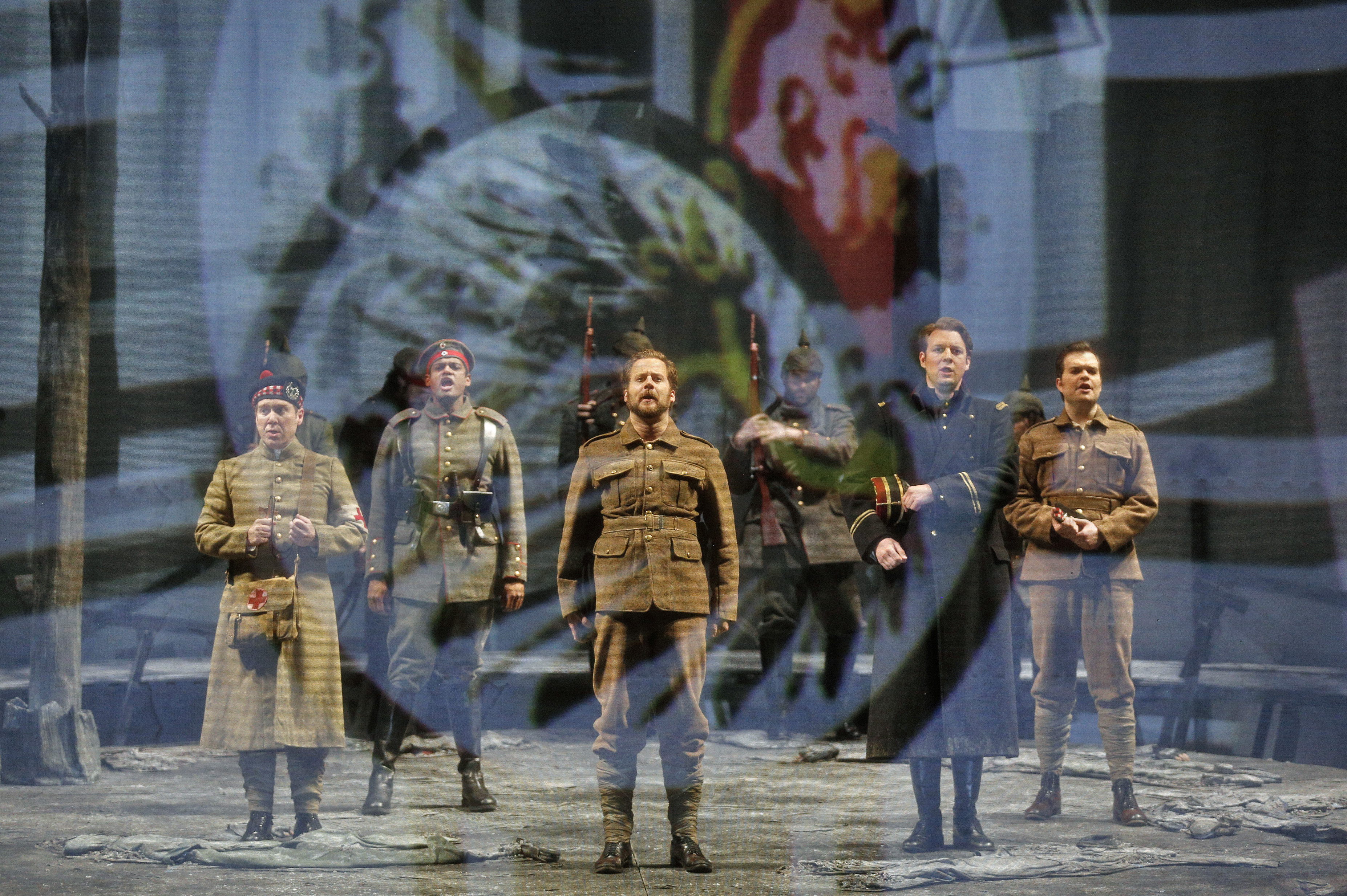 JOYOUS MOMENT: KC Lyric tackles bold new opera asking 'big questions' about war