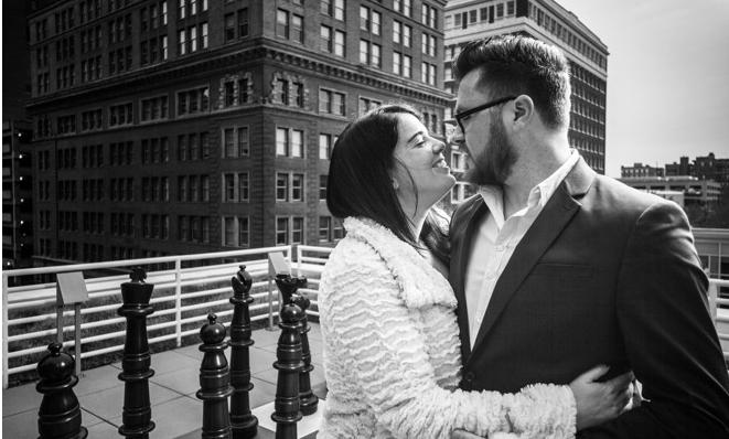 Congratulations, Alison & Daniel!