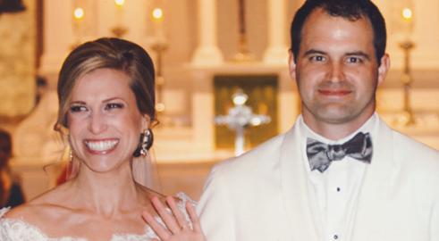 Congratulations, Mr. & Mrs. Patrick!