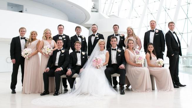 Congratulations, Mr. & Mrs. Rieger!