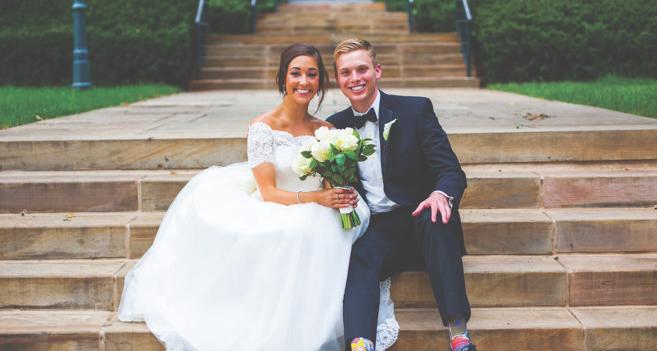 Congratulations, Mr. & Mrs. England!