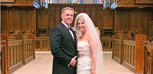 Congratulations, Mr. & Mrs. Church!