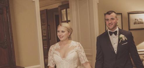 Congratulations, Mr. & Mrs. Robinson!