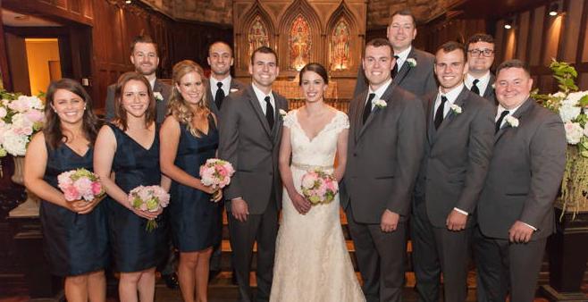 Congratulations, Mr. & Mrs. Erker!