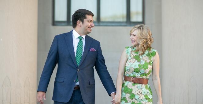 Congratulations, Rachel & Jake!