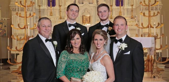 Congratulations, Mr. & Mrs. Kraemer!